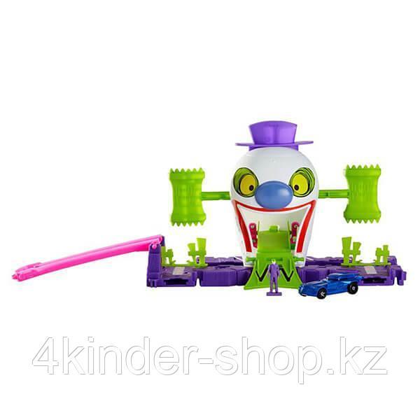 Mattel Hot Wheels Хот Вилс Готэм Сити игровые наборы Джокер - фото 1
