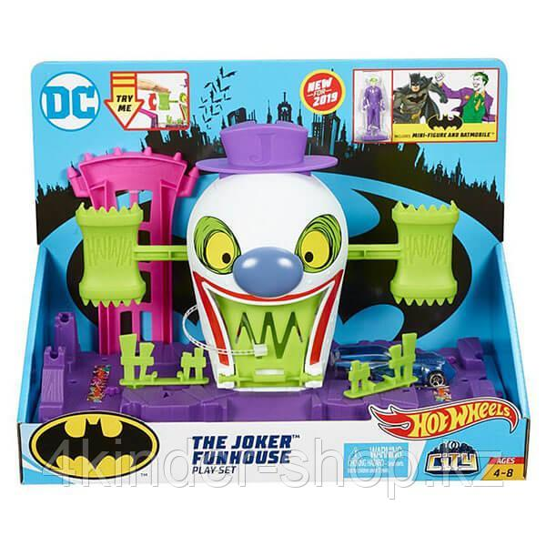 Mattel Hot Wheels Хот Вилс Готэм Сити игровые наборы Джокер - фото 2