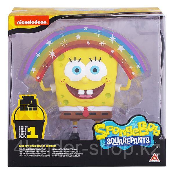 SpongeBob EU691001 Спанч Боб радужный мем коллекция 20 см пластиковый - фото 1