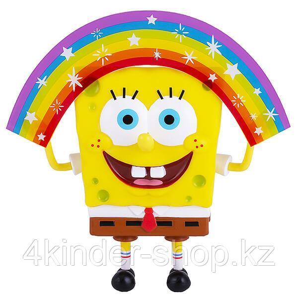 SpongeBob EU691001 Спанч Боб радужный мем коллекция 20 см пластиковый - фото 2