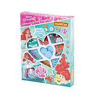 Набор для детского творчества Disney Принцесса Ариэль 187 элементов в коробке