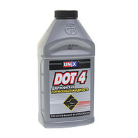 Жидкость тормозная DOT-4 0.455кг UNIX арт.02010002.