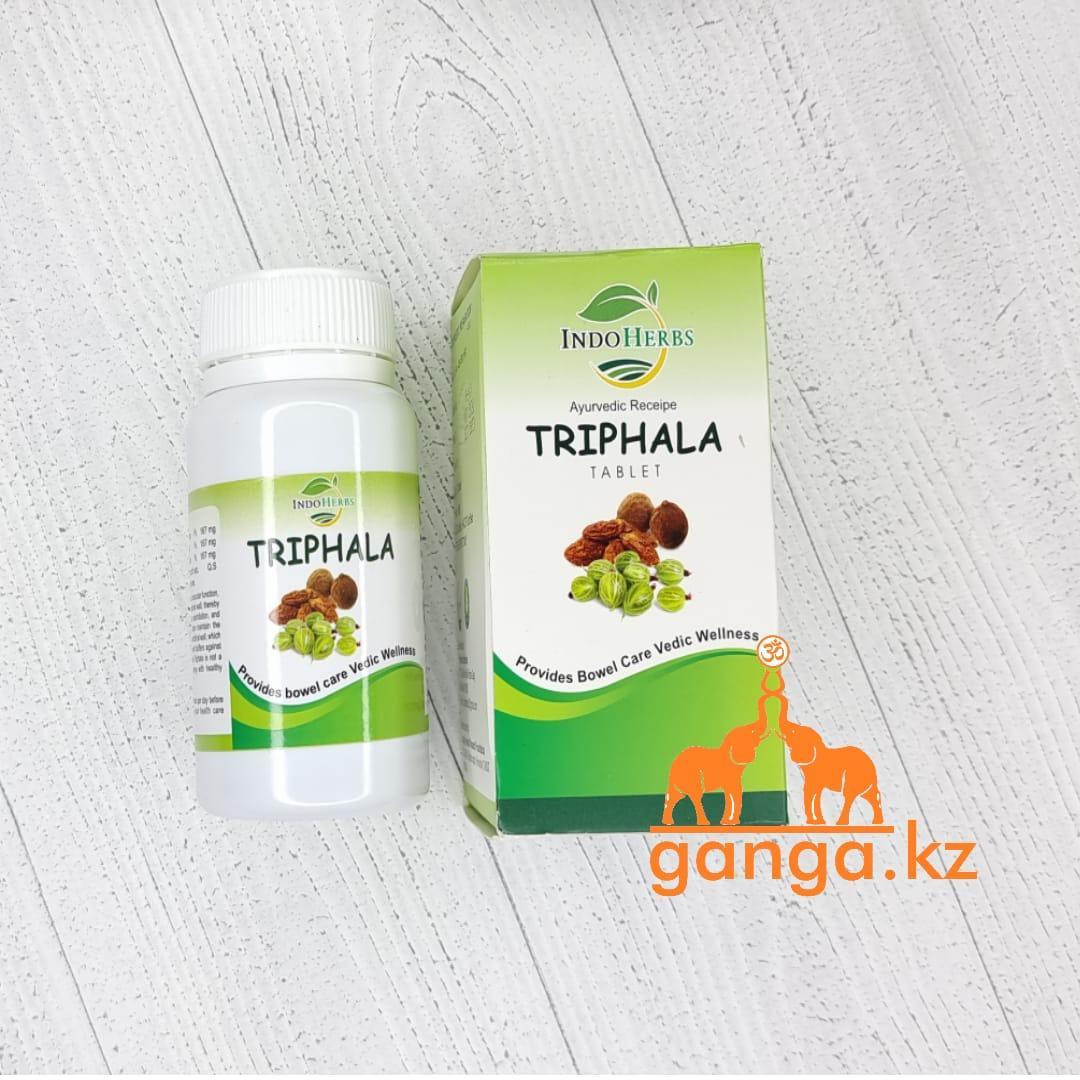 Трифала для Очищения Организма (Triphala INDOHERBS), 60 таб.
