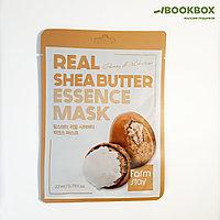 Тканевая маска для лица FarmStay с маслом ши