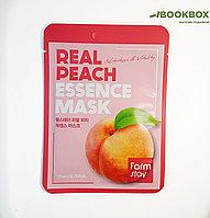 Тканевая маска для лица FarmStay, с экстрактом персика, 23 мл