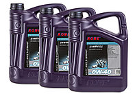 Масло моторное ROWE HIGHTEC SYNTH RS SAE 0W-40, 15 литров (3 x 5L)