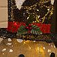 "Фигура текстиль ""Снеговик малый"" 80x33x110 см, 100 LED, 220V, Т/БЕЛЫЙ, фото 5"
