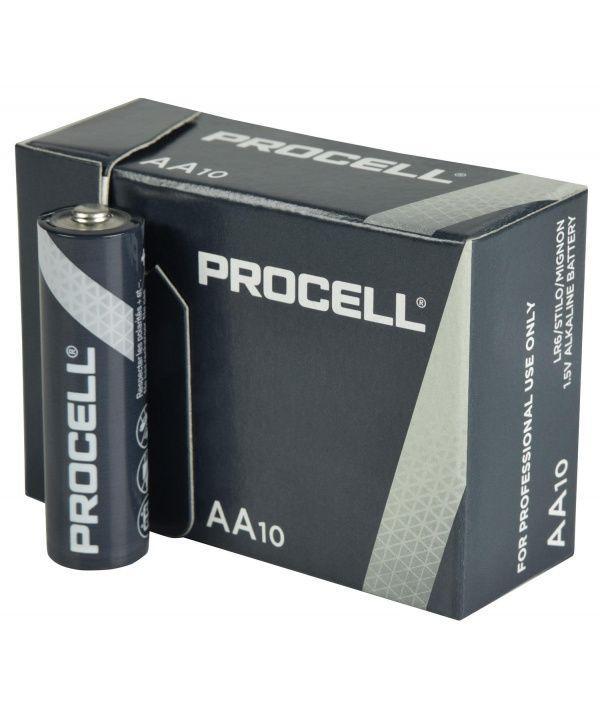 Батарейка Duracell AA Procell Professional Alkaline LR6.Изготовлено в Бельгии