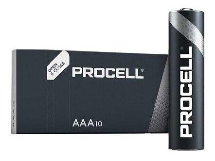 Алкалиновые батарейки Duracell Procell LR03 (AAA), 1.5В