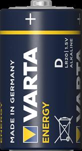 Батарейка Varta D  ENERGY LR20  alkaline