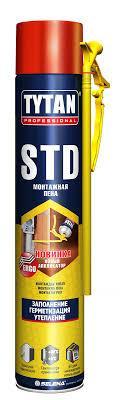 Монтажная пена Tytan СТД О2 750 ml
