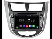 ШГУ Hyundai Solaris 11-17 (INCAR AHR-2487) Android 4.4.4/1024*600,wi-fi