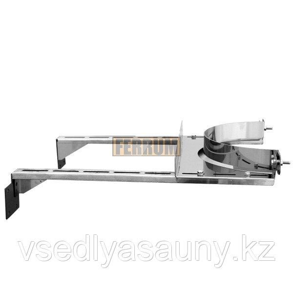 Стеновой хомут (AISI 430/0,8 мм) Ф 200. Ferrum.