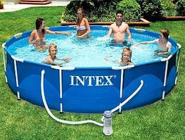 Каркасный бассейн INTEX 28202 METAL FRAME POOL