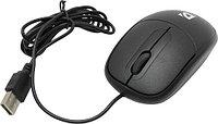 Мышь проводная Defender Datum MS-980 черный,3 кнопки,1000dpi, фото 1
