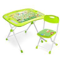 Ника стол+мягкий стул от 3-х лет Первоклашка