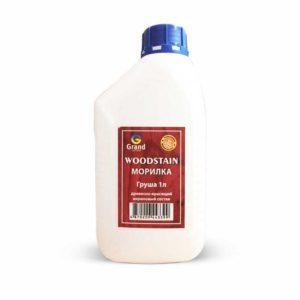 Морилка Woodstain Древесно-красящий акриловый состав (дуб, орех, клен, сосна, орегон, венге, моренный дуб)1л