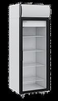 Шкаф холодильный, стеклянные двери. 500 литров, температура от +1C° +10C°.
