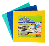Салфетки универсальные Freshouse Premium (разноцветные), 3 штуки