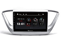 "ШГУ Hyundai Solaris 16+ (Nakamichi NTA-2402) 4x50Вт,RDS,MP5,USB,BT,2.5D экран,мультиподсветка,MirrorLink, 9"""