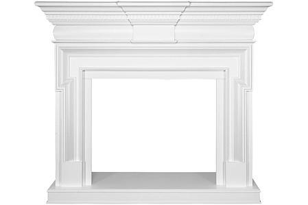 Каминокомплект Torino - Белый с очагом Symphony 30'', фото 2
