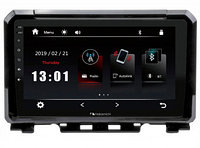 "ШГУ Suzuki Jimny 19+ (Nakamichi NTA-1701) 4x50Вт,RDS,MP5,USB,BT,2.5D экран,мультиподсветка,MirrorLink, 9"""