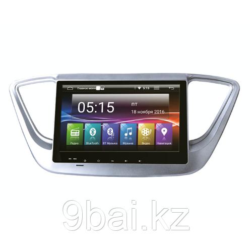 ШГУ Hyundai Solaris 17+ (INCAR AHR-2469) Android 4.4.4/1024*600,wi-fi
