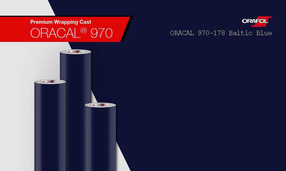 ORACAL 970 178 GRA (1.52m*50m) Балтийско-синий глянец