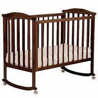 ЛЕЛЬ Кровать детская ЛЮТИК без ящика Венге