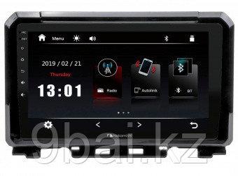 ШГУ Suzuki Jimny 19+ комп-ция с ориг.камерой з.в.  (Nakamichi NTA-1701c) 4x50Вт,RDS,MP5,USB,BT,2.5D экран,муль