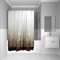 Водонепроницаемая тканевая шторка для ванной Tropik полиэстер 180x200 см Matrix 3636
