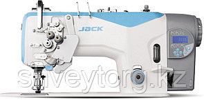 Двухигольная промышленная швейная машина с электронным управлением челночного стежка  JACK JK-58750J-413E