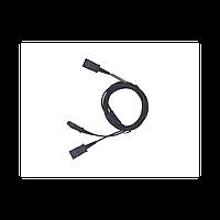 Шнур-разветвитель VT QD(P)-2QD(P)(02)