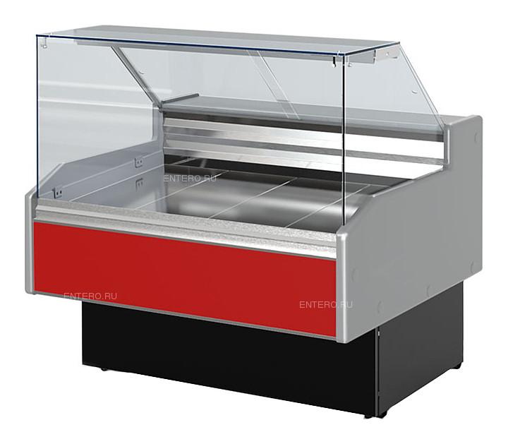 Витрина холодильная Golfstream Двина QS 150 ВС красная