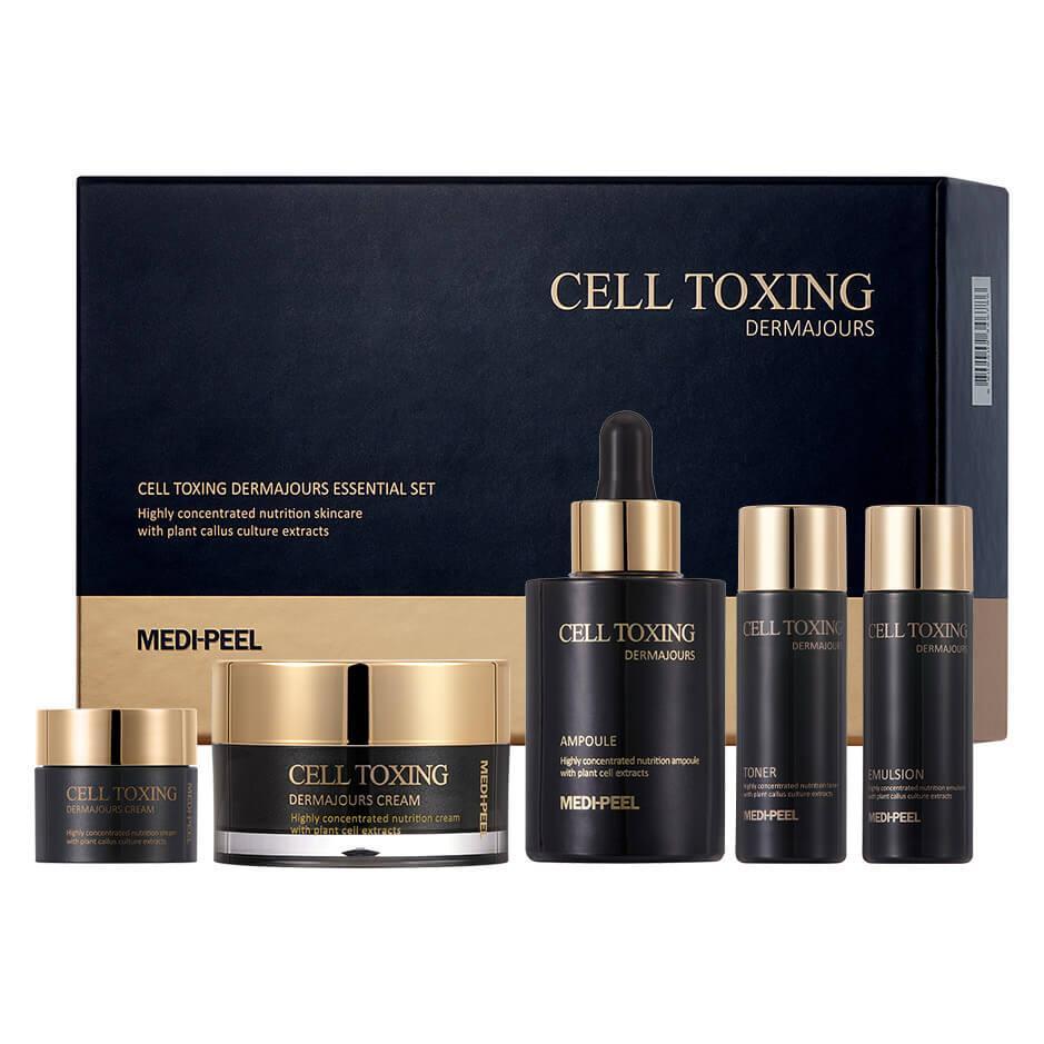 Омолаживающий набор со стволовыми клетками Medi-Peel Cell Toxing Dermajours Essential Set