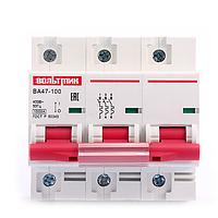 Автоматический выключатель ВА 47-100 3р 100А 10кА хар.D