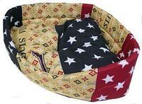 Лежак угловой со съемной подушкой КСОДИ 65*65*18 см