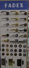 Дверные ручки, накладки, фурнитура FADEX