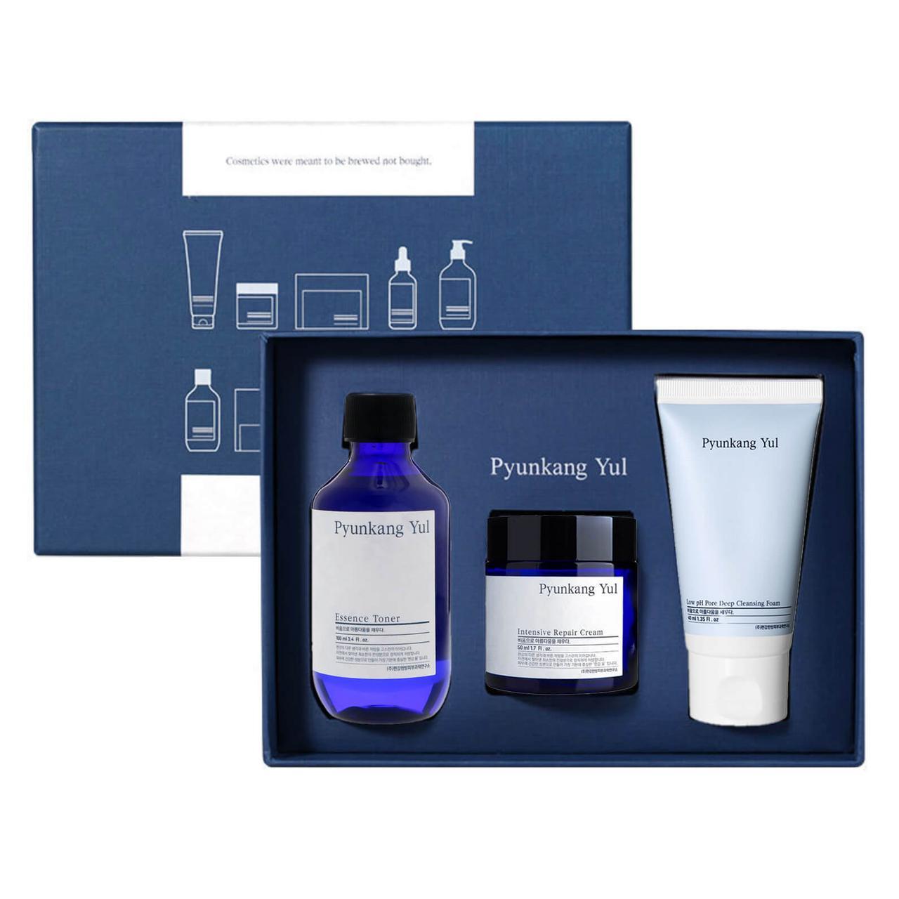 Увлажняющий набор для сухой и чувствительной кожи Pyunkang yul Moisture Skincare Set