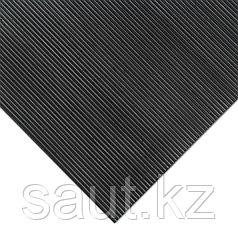 Покрытие резиновое - мелкий рубчик, черное