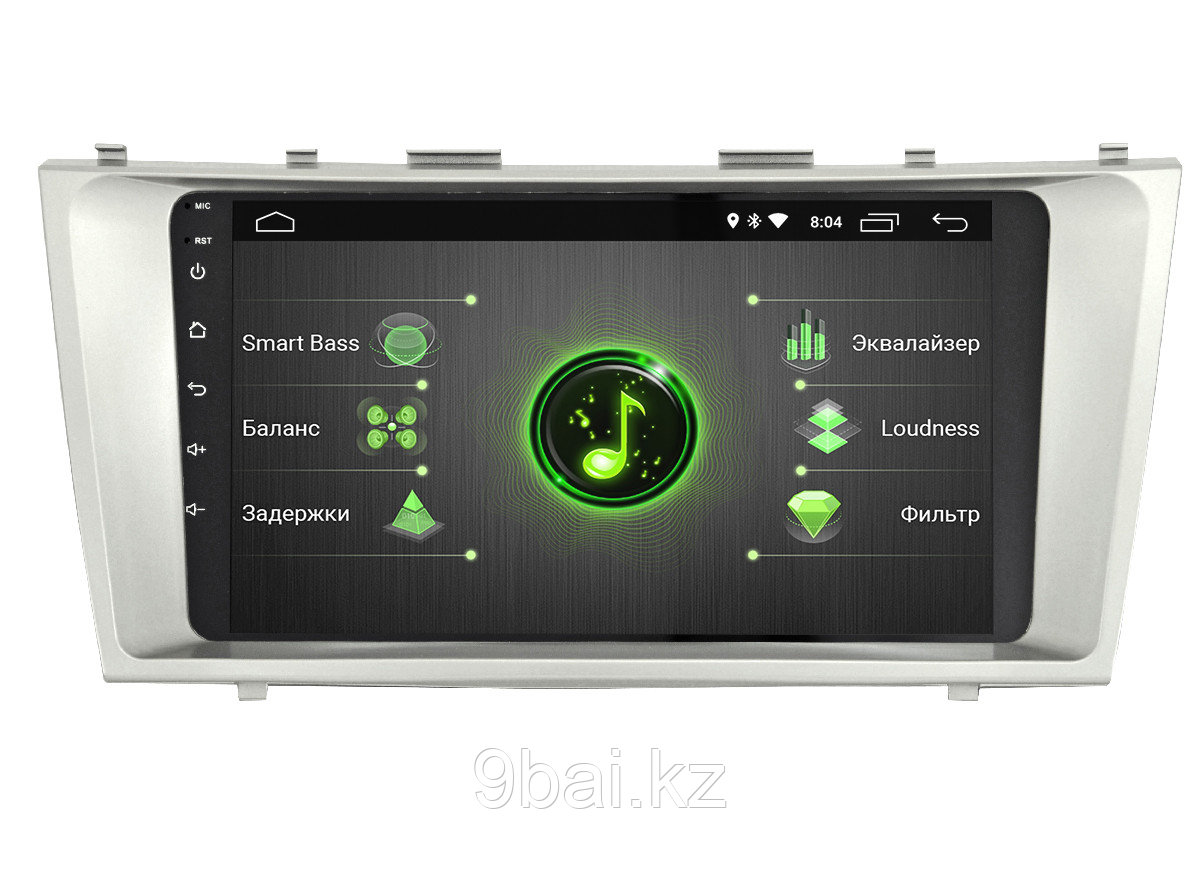 """ШГУ Toyota Camry 12-14 (INCAR DTA-2205) Android 10/1024*600, wi-fi, IPS, BT, 10"""", DSP"""