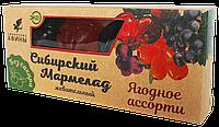 Мармелад на фруктозе ягодное ассорти 100 гр
