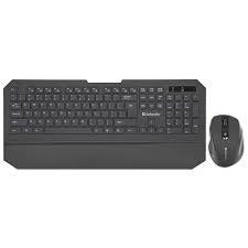 Комплект беспроводной клавиатура+ мышь Defender Berkeley C-925 RU,черный