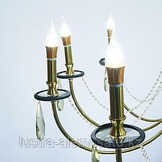 Люстра Классика 5124/10 Copper BRASS E14*10, фото 2