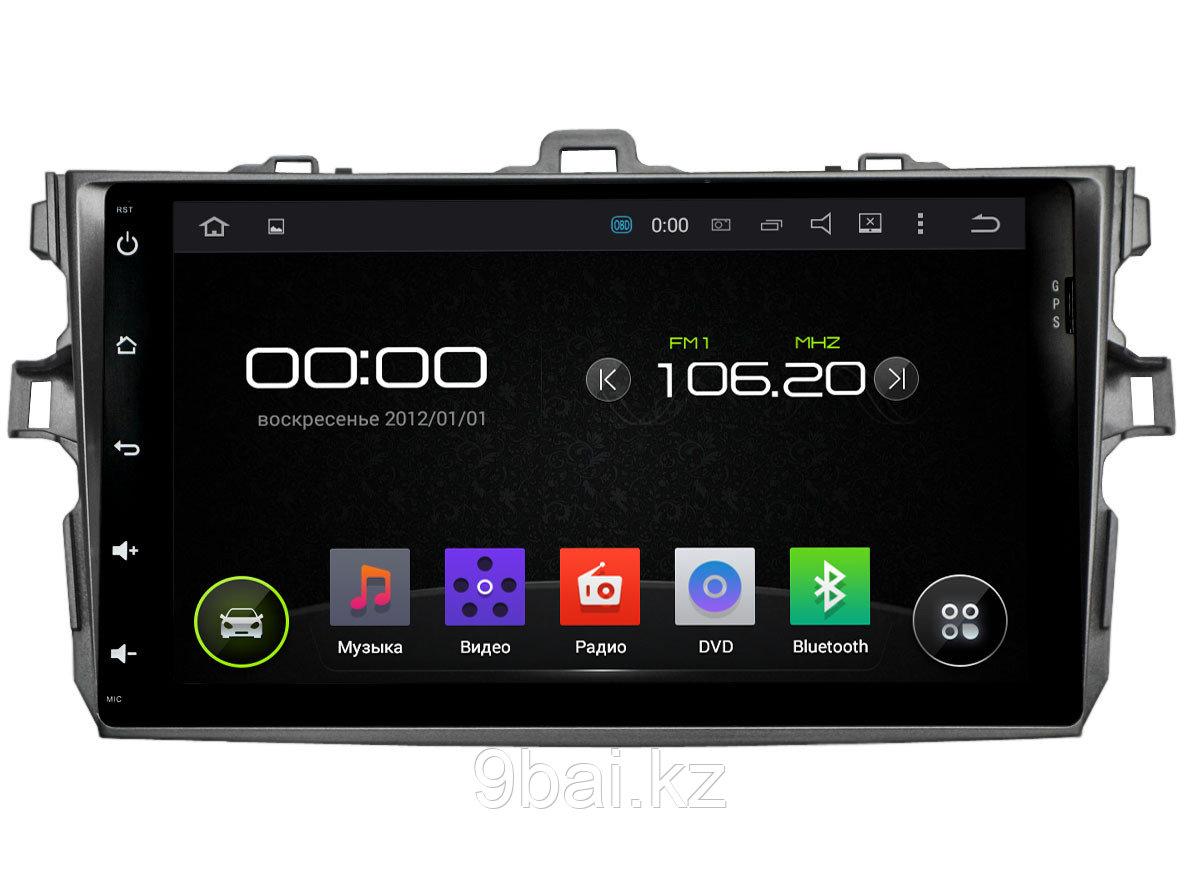 "ШГУ Toyota Corolla 06-11 (INCAR AHR-2234) Android 5.1/1024*600,wi-fi, 8"""