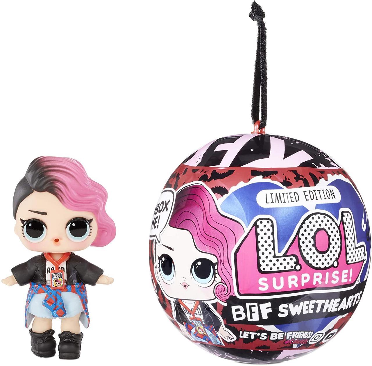 LOL Surprise Кукла ЛОЛ Девочка Рокер в шарике, BFF Sweethearts Rocker Supreme Оригинал