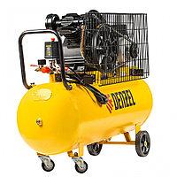 Компрессор воздушный рем. привод BCV2200/100, 2.2 кВт, 100 литров, 370 л/мин// Denzel