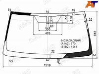 Стекло лобовое с обогревом щеток + дд TOYOTA LAND CRUISER PRADO/LEXUS GX460 09-