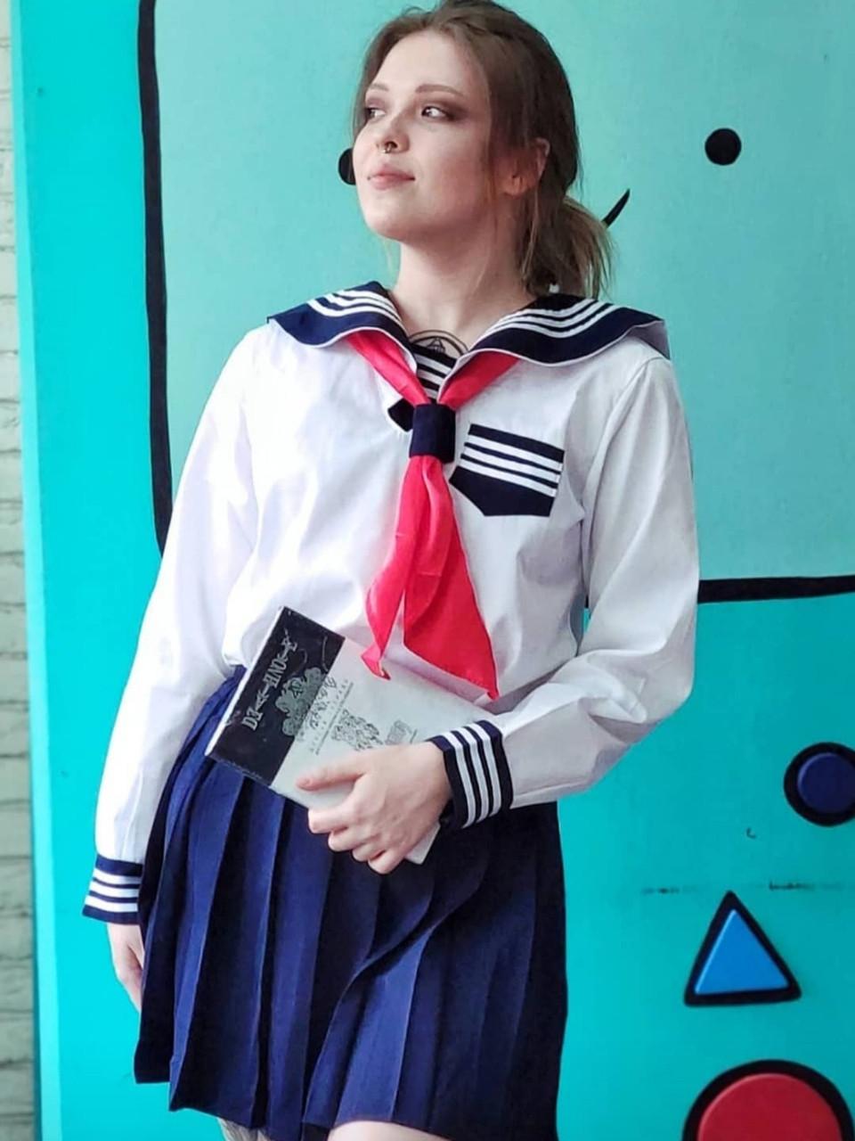 Японская школьная форма (Белая)