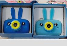 Детский  фотоаппарат зайка синий